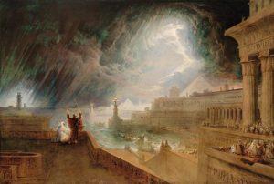 """エジプト第七の災い""""、ジョン・マーティン、1824年"""