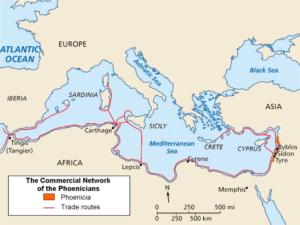 フェニキア人の航海路
