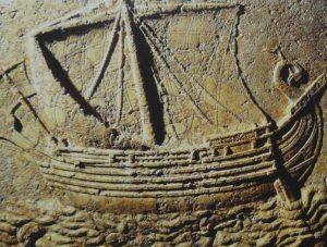 フェニキア人の船