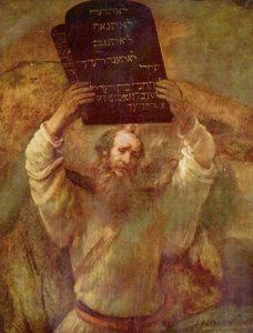 モーセの十戒(レンブラントの絵画)